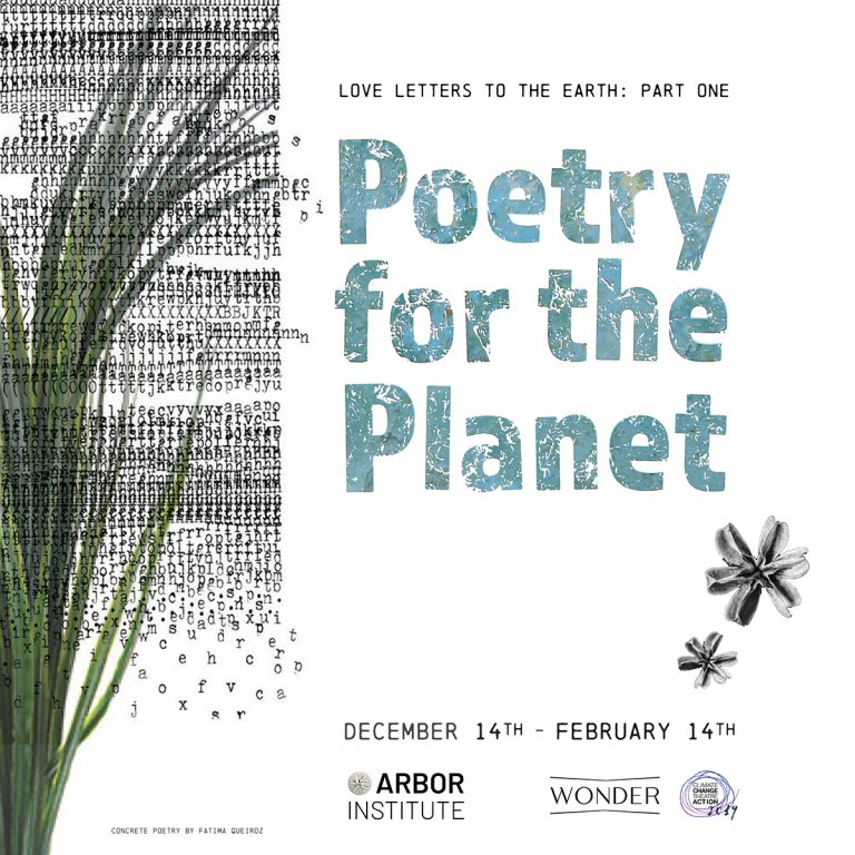 Love Letters to the Earth Part One: Poetry for the Planet