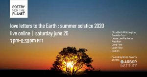 Poetry For the Planet : Summer Solstice