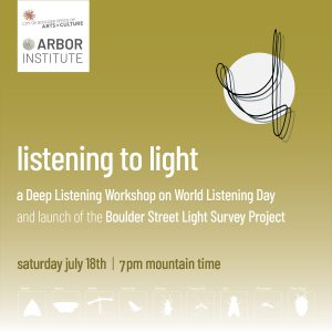 Listening to Light | Boulder Street Light Survey Project