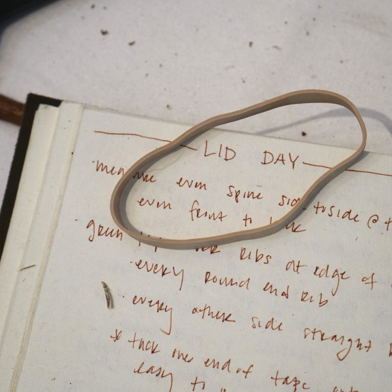 notebook - lid day